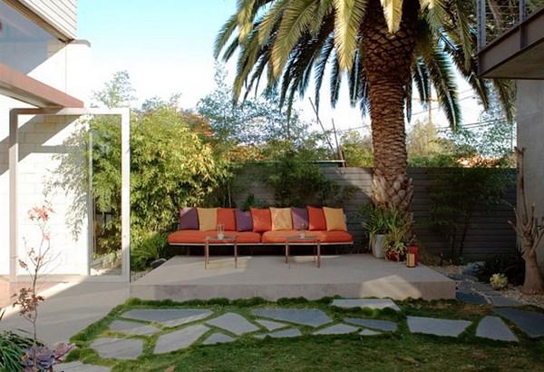 Painting Patio Slabs Backyards