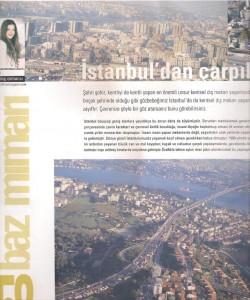 istanbuldan çarpık görüntüler