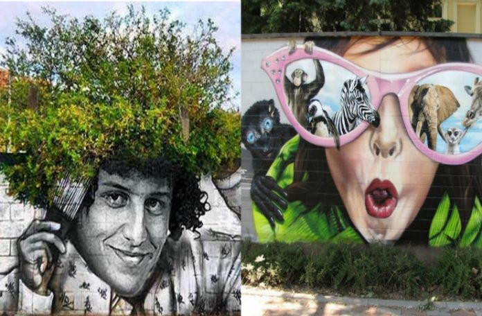 WHEN  STREET DESIGN 'GRAFFITI IS INTEGRITY OF NATURE!