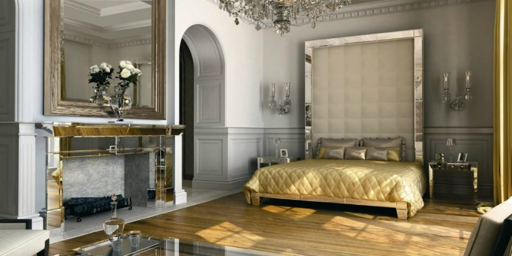 THE MOST CRUICIAL TREND OF INDOORS: GOLD AND METALLIC REFLECTIONS