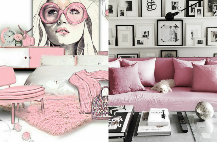 LET'S DESIGN YOUR SPACES WITH PINK GLASS