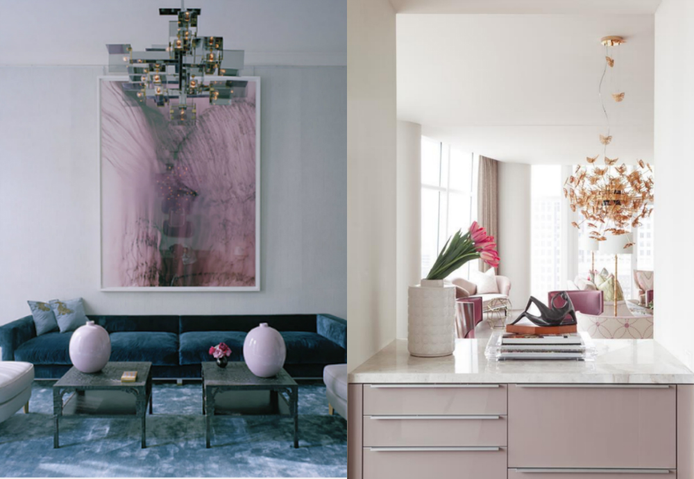 WINTER COLOR IS 'PINK' IN DESIGN