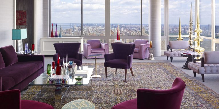 PAMPER YOUR 'PENTHOUSE' WITH THE PURPLE DECOR!