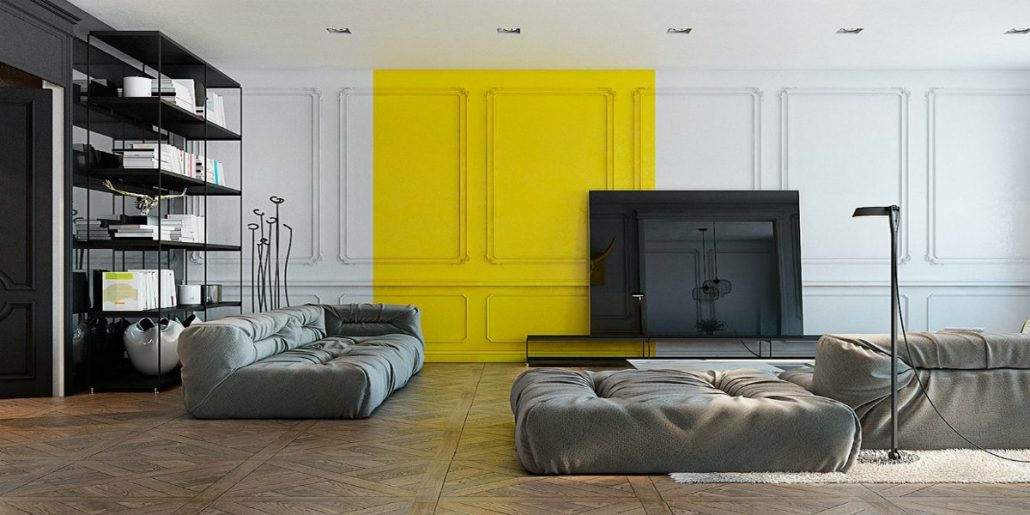 REFLECT YOUR LIGHT WITH SUN YELLOW TO YOUR HOME!