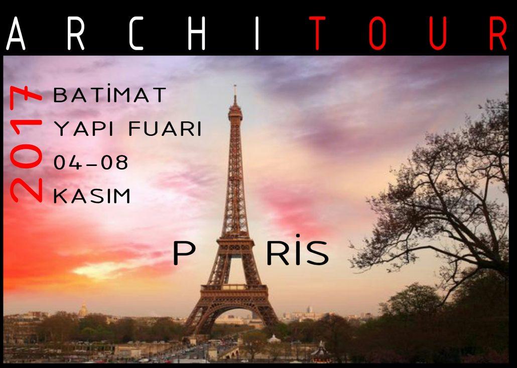 PARIS BATIMAT 04-08 NOVEMBER 2017 ARCHITOUR